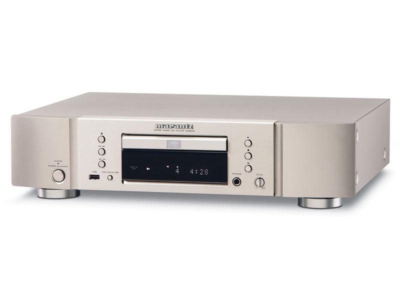 Powieksz do pelnego rozmiaru maranc marantc SA-8003 8003 SA 8003 audiofilski przetwornik C/A CS4398, moduły HDAM, USB, miedziowana obudowa